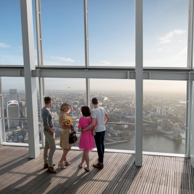 Inside The View from The Shard (Couples)