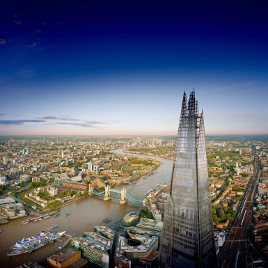See The View from The Shard in the day