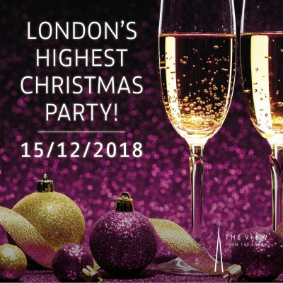 London's Highest Christmas Party!